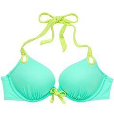 Sporty Swimwear, Bikini Swimwear, Bikinis, Halter Bikini, Bikini Tops, Push Up Swimsuit, Swim Bra, Victoria Secret Bikini, Swimwear Cover Ups