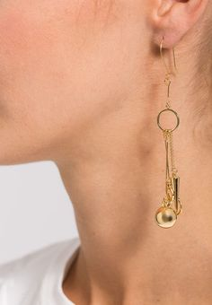 Whistles Ohrringe - gold-coloured - Zalando.de