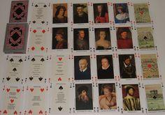 Jeu de 54 cartes à jouer La renaissance Francois 1er