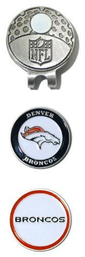 NFL Denver Broncos Cap Clip With 2 Markers by Team Golf. $14.95. NFL Denver Broncos Cap Clip With 2 Markers