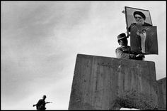 IRAN. Tabriz. 1979. The takeover of a television station.