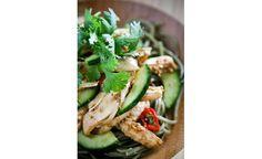 Salade printanière au sésame