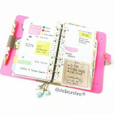Forgot to post this earlier this week. Probably because I wasn't really feeling it but...whatevs!   #fluropinkfilofax #filofaxfluropink #filofaxoriginal #filofax #planner #planning #plannerlayout #plannerlove #planneraddict #planneraddiction #kikkik #erincondrenlifeplanner by chellasunshine