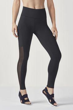 Mila High-Waisted Legging - black