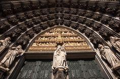 The Joyful Traditionalist: Photo Sainte Marie, Gothic Architecture, Cologne, Louvre, Building, Travel, Viajes, Buildings, Destinations