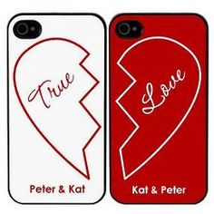 True Love Personalized iPhone Cases haha this is so cheesy. Best Friend Gifts, Gifts For Friends, Cell Phone Hand Holder, Customized Gifts, Personalized Gifts, Matching Phone Cases, Couple Cases, All Iphones, Engraved Gifts