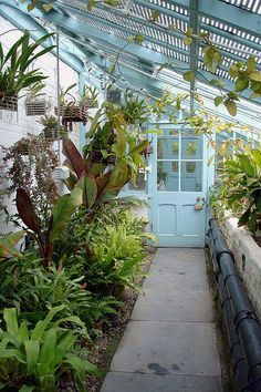 The Charles Darwin greenhouse at Down House, Downe, Kent
