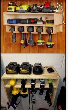 Pvc Drill Holder Got Tired Of Losing Your Drills Or Power Tools In