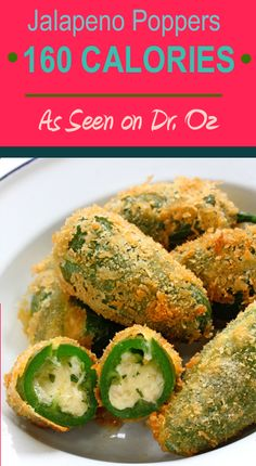 Hungry Girl's Jalapeno Poppers (only 160 Calories per serving!)