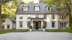 Beautiful Grey Green Cladding Bedford Home by Paul Davis