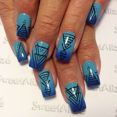 sweetalize #nail #nails #nailart. Choice of colors are very nice..