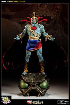 Mumm-Ra Mixed Media Statue - Pop Culture Shock - SideshowCollectibles.com