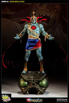 Mumm-Ra Mixed Media Statue - Pop Culture Shock - SideshowCollectibles.com