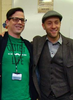 with Coops at Student Art Class Visit in Loughborough
