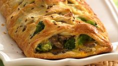 Broccoli Brunch Braid-Broccoli is just one of the savory ingredients bundled inside this breaded braid, making it a delicious choice for brunch-time guests. http://www.pillsbury.com/recipes/broccoli-brunch-braid/5c1d42b3-63e4-4768-819e-d1cb0d2f9cac