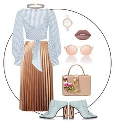 """""""Last summer days"""" by trend-anonymous on Polyvore featuring Miss Selfridge, River Island, Johanna Ortiz, Dolce&Gabbana and Lime Crime"""