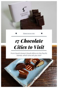 What Is Food Tourism? The single most popular type is culinary tourism. Similar to culinary tourism are wine country vacations. Chocolate City, Best Chocolate, Chocolate Brownies, Chocolate Spread, Travel Crafts, Best Street Food, Travel Destinations, Travel Trip, Usa Travel
