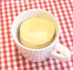 gluten free bread in a cup