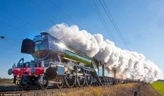 Glorious: The Flying Scotsman makes its first run with passengers after a major refit and ...