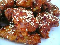 honey sesame chicken: chinese comfort food at home