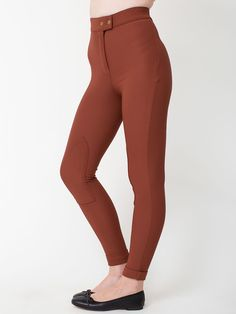 The Riding Pant in Henna by #AmericanApparel.  #Fall