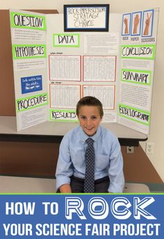 Great list of innovative Science Fair ideas as well as tips and tricks to make sure your presentation is the best it can be!