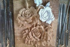 Стена Wood Carving Patterns, Wood Carving Art, Carving Designs, Wood Art, Plaster Sculpture, Plaster Art, Wood Sculpture, Wood Flowers, Ceramic Flowers