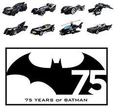 Hot Wheels Batman cars - 40% off!