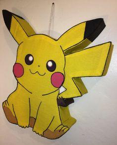 pikachu pinata pokemon pinata pikachu party por aldimyshop en Etsy