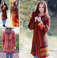 Crochet Patterns and Projects for Teens - Crochet Hooded Jacket - Best Free Patterns and Tutorials for Crocheting Cute DIY Gifts, Room Decor and Accessories - How To for Beginners - Learn How To Make a Headband, Scarf, Hat, Animals and Clothes DIY Projects and Crafts for Teenagers http://diyprojectsforteens.com/crochet-patterns-free