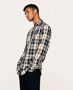new products 4125b daf31 8 fantastiche immagini su camicie a quadri | Capi d ...