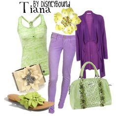 Disney Inspired Outfits- Tiana