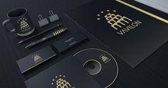 Hotel Vavilon (logo & vizuelni identitet) by Dražen Stojović, via Behance