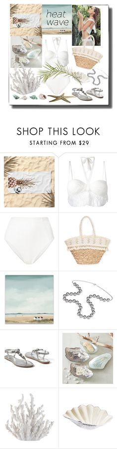"""""""Keeping Cool!"""" by sherrysrosecottage-1 ❤ liked on Polyvore featuring Ermanno Scervino, ONIA, Sun N' Sand, Aspinal of London, Venus, Two's Company, Fancy That Gift & Décor, Julia Knight, Ross-Simons and heatwave"""