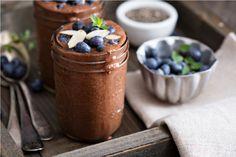 Pudín de chia y cacao orgánico