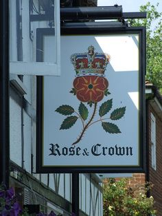 The Rose and Crown pub sign Fletching Sussex | Flickr - Photo Sharing!