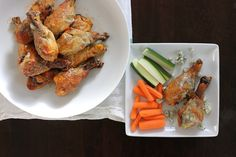 bleu cheese crusted buffalo drumsticks!! So easy in the crock pot and great for the Superbowl parties!