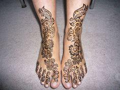 henna wedding tatoos