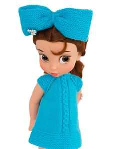 Doll Clothes Dress For Disney Animators Dolls 16 by LelleModa