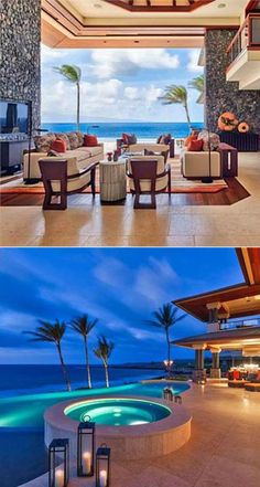 Winter Escape in Hawaii >> http://coolhouses.frontdoor.com/2013/02/25/winter-escape-hawaii-beach-retreat-in-gated-resort/?soc=pinterest