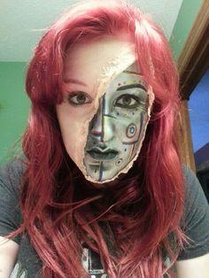 Robot makeup # obscure origins