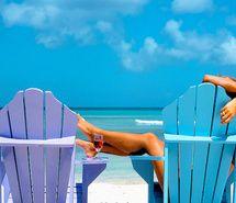 beach, relax, summer