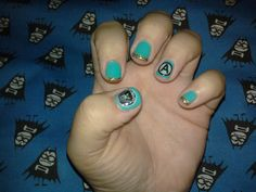 The Aquabats Nail Art! SUPER RAD