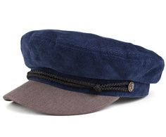 Fiddler Hat by Brixton- Blue/Grey