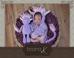 Briana K crochet monster set pattern. Perfect for Where The Wild Things Are!