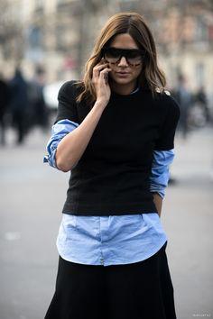 hello Ceec. you look brilliant. Paris. #ChristineCentenera