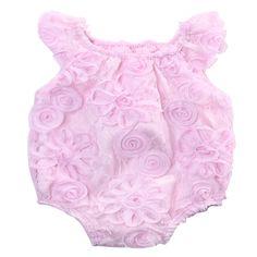 Pink Tie Dye//Watermelon Girls Infant Romper//12-24M 24M Soft /& Cuddly Cotton Romper