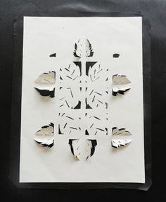 Art At Woodstock: Sculpture: Cut Paper Relief Sculpture