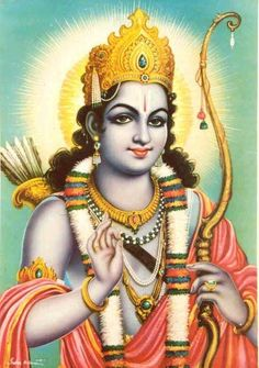 Rama Navami - A Day of Victory, Valour and Values Rama Saraswati Goddess, Kali Goddess, Ganesha Art, Krishna Art, Ganesha Painting, Radhe Krishna, Lord Ram Image, Ram Navami Images, Rama Photos