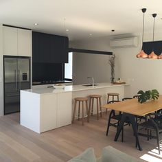 "40 Likes, 5 Comments - S  E  B (@scandi_seb) on Instagram: ""Kitchen inspo 😍 This is the classic builders show home who we are building with for the second…"""